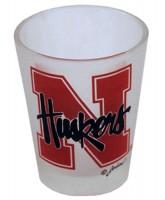 Nebraska Cornhuskers Frosted Shotglass