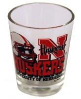 Nebraska Cornhuskers Helmet Shotglass