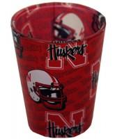Nebraska Cornhuskers Shadow Shotglass