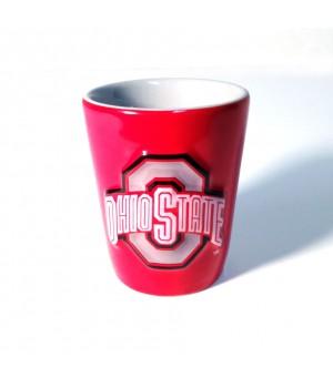 Ohio State Buckeyes Shotglass Red