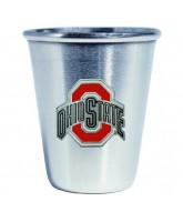 Ohio State Buckeyes Steel Shot Glass