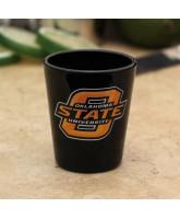 Oklahoma State Cowyboys 3D Shotglass Black