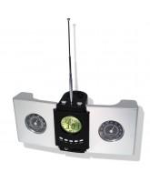 Multi-Calendar & Radio with Thermo/Hygrometer